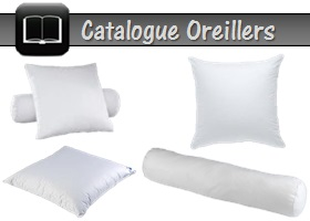 catalogue oreiller